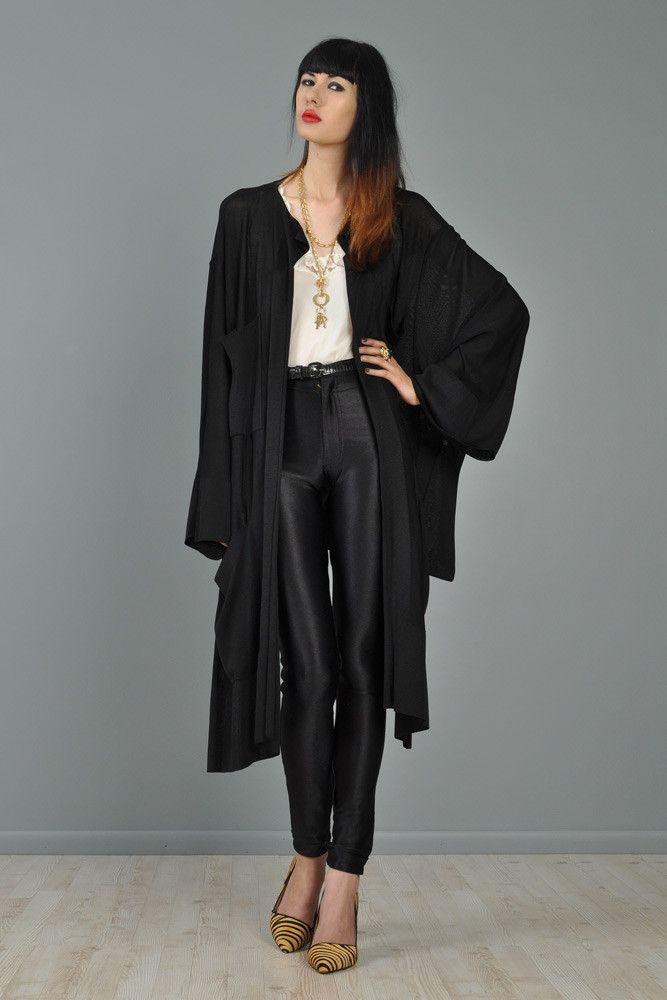 Alaia Draped Kimono Jacket   BUSTOWN MODERN   Style collage ...