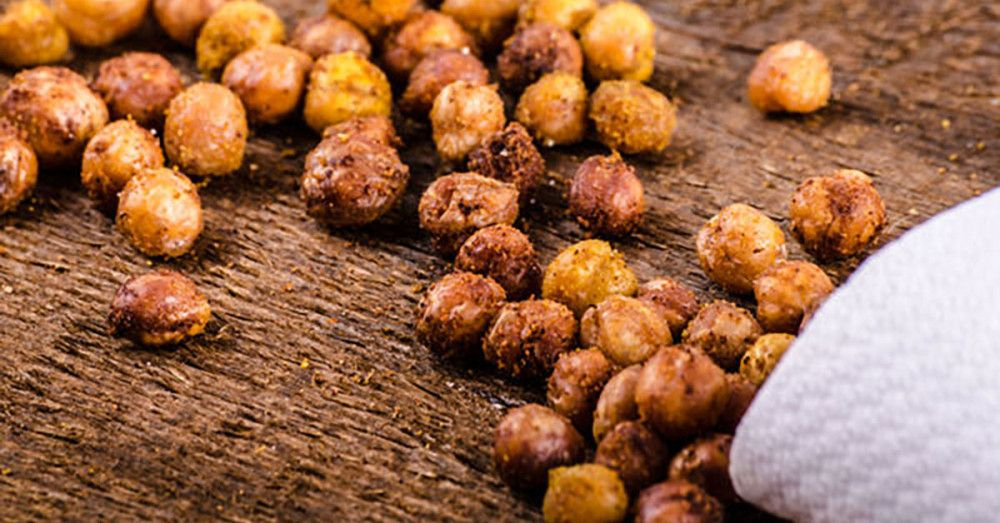 The New Popcorn – Spicy Curried Roasted Chickpeas