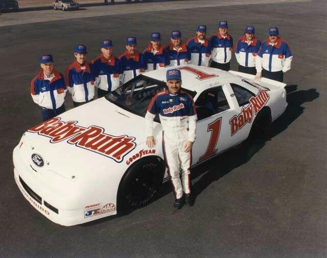 Jeff Gordon S First Busch Grand National Team And Car Nascar