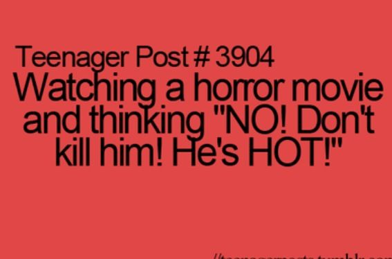 How I feel when I watch a movie