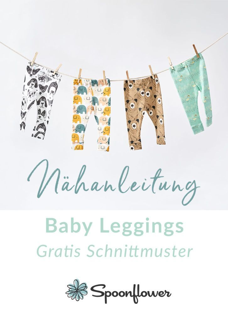 Photo of Baby & Kinder Leggings Nähanleitung
