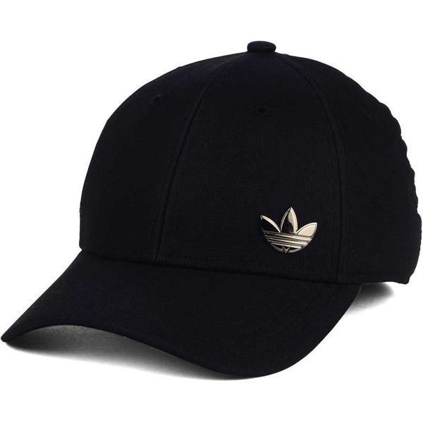 Urban Outfitters x adidas adidas Originals Relaxed Strapback Baseball Hat Black at Urban Outfitters from Urban Outfitters (US) | ShapeShop