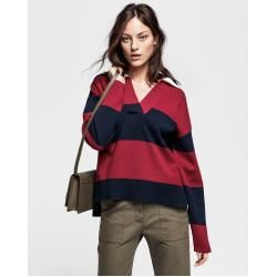 Photo of Gant Rugby Knit Shirt (Rosso) Gant