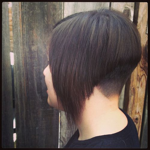 line & stacked bob hairstyles on Pinterest   A Line Bobs, Bob ...