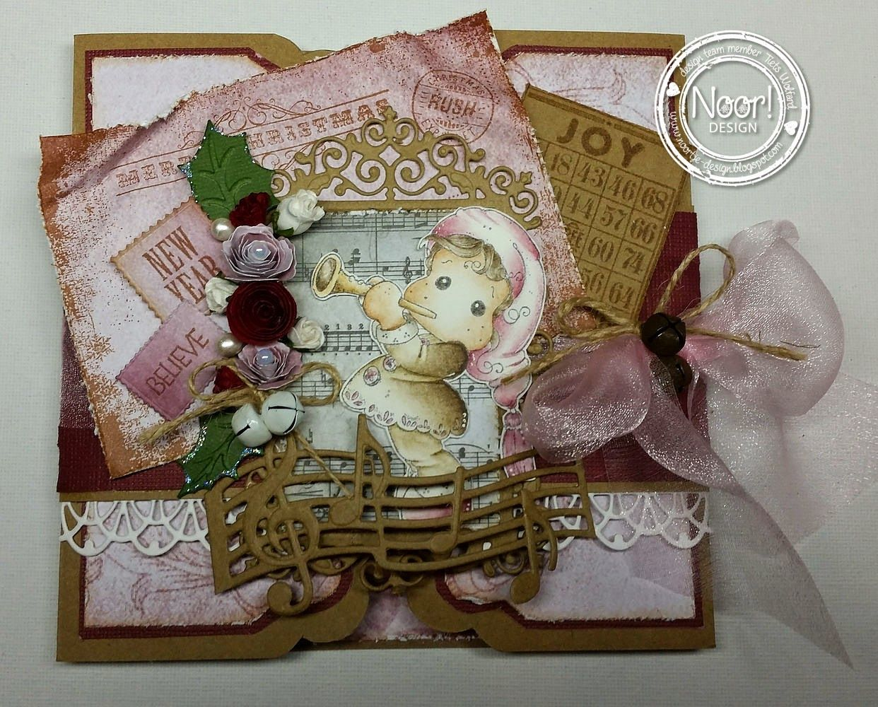 In the spotlight- bloghop- Wish list stempel!!
