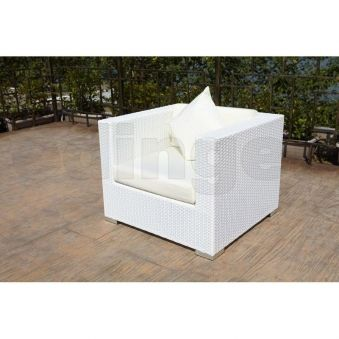 outflexx polyrattan lounge sessel wei 2511 7 exteriors. Black Bedroom Furniture Sets. Home Design Ideas