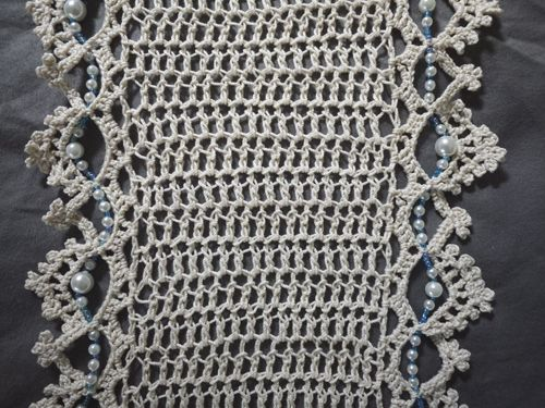 Thread And Beads Infinity Scarf Scarves Crochet And Crochet
