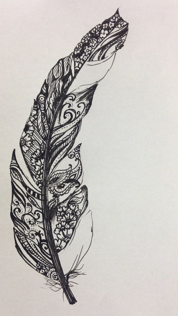Henna Feather: Pinned Says: If Only Everyone In The World Didnt Also Have