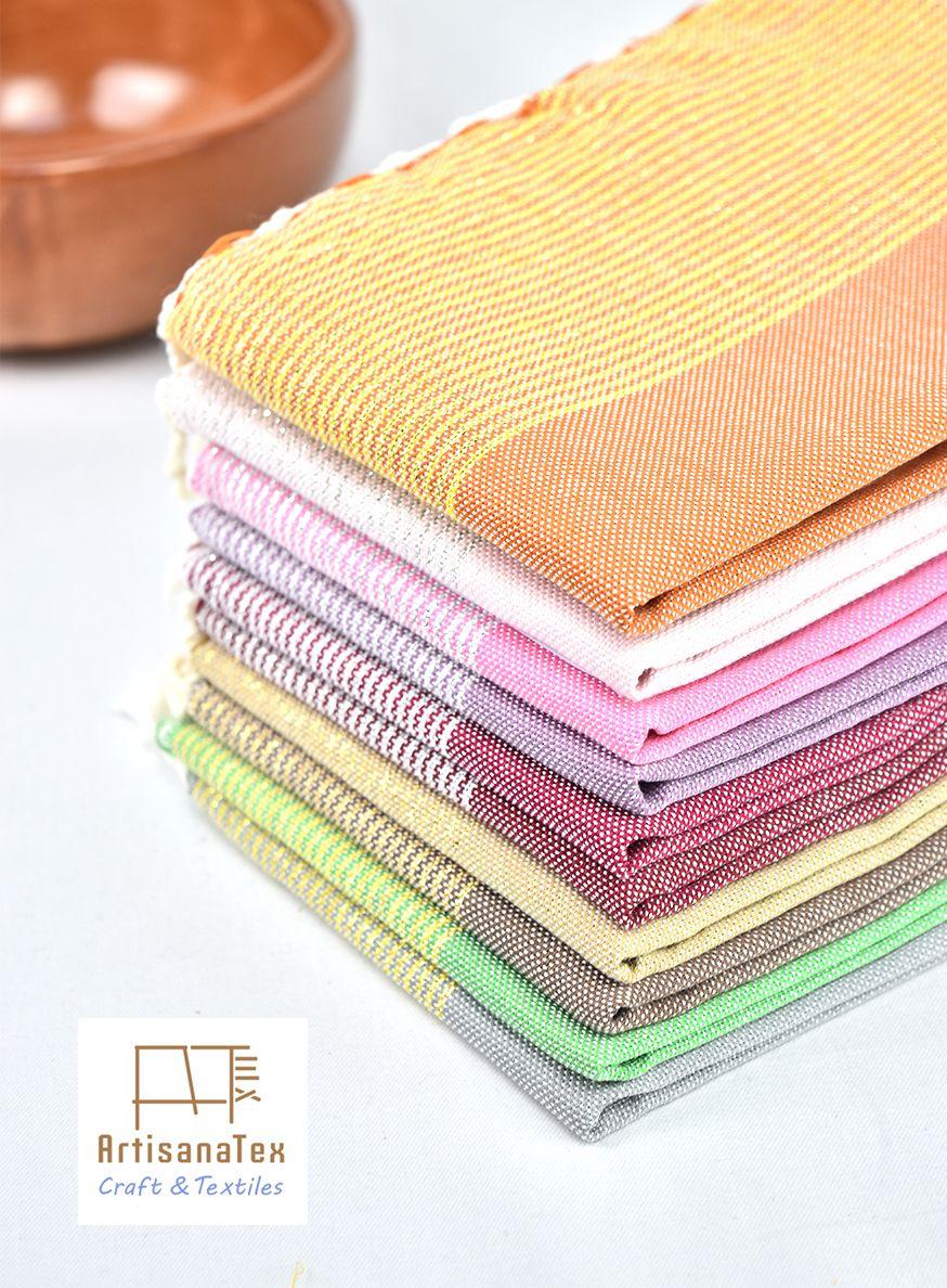 Serviette Artisanat Napkin Craft Textile Fouta Jete Tunuisia Towel