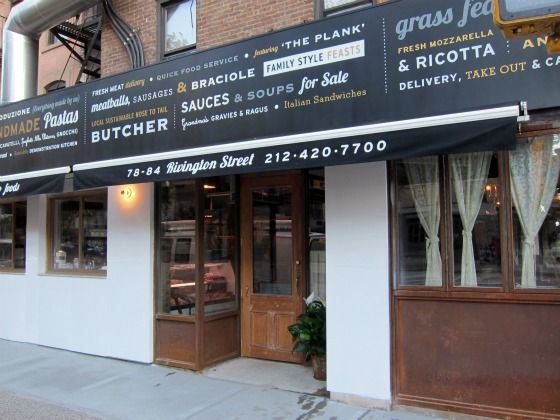 Sauce Restaurant At Rivington And Allen Streets Is Open Daily For Breakfast