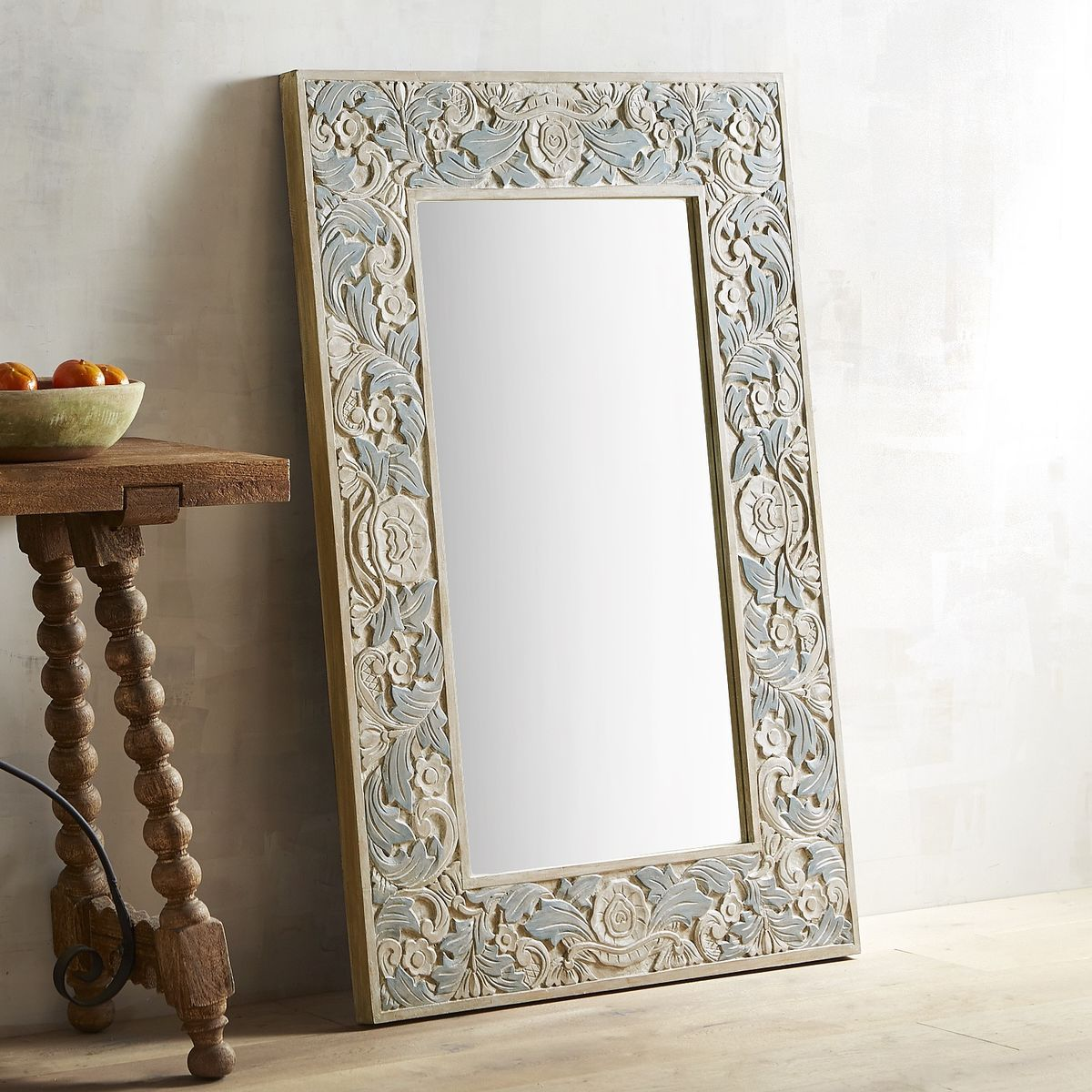 32 x 48 mirror bella carved wood frame 32x48 mirror pier imports livingroom