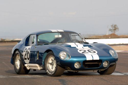 One of six Cobra Daytona Coupes