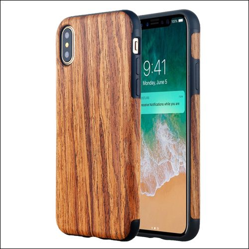 brand new 8e49c 6f42e 6 Best iPhone XS / X Wooden Cases: Real Wooden Covers for iPhone XS ...