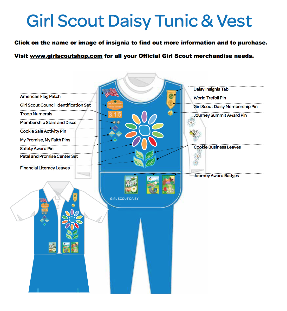 brownie sash diagram wiring color codes automotive daisy vest layout troop pinterest girl