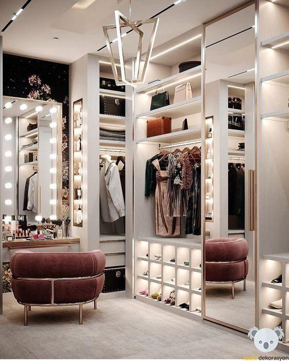 #giyim #giyinmeodası #yatakodası #bedroom #bedroomdecor #bedroomdesign #bedroominspirations  #bedroomwardrobe