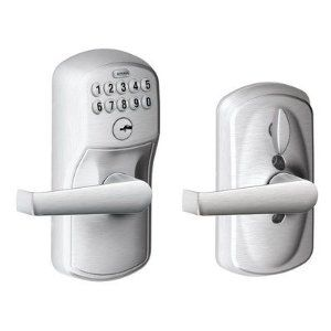 Plymouth By Elan Keypad Lever With Flex Lock By Schlage Lock Company 139 99 Fe595 Ply 626 16 211 10 025 Features Keypad Lever Fo Hardware Commercial Glas