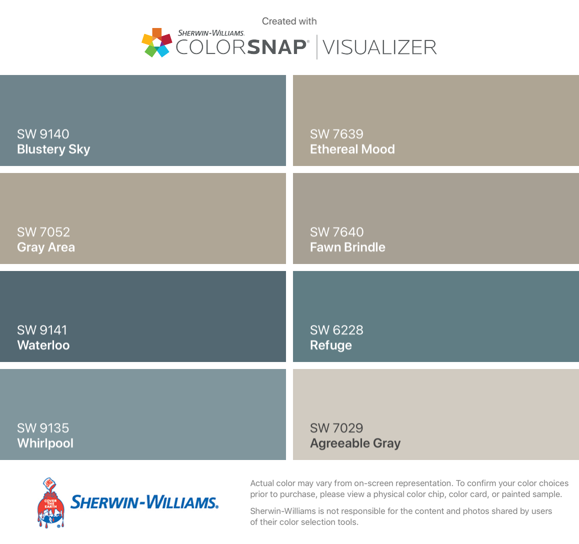 I Found These Colors With Colorsnap Visualizer For Iphone By Sherwin Willi Exterior Paint Colors For House Sherwin Williams Paint Colors Paint Colors For Home