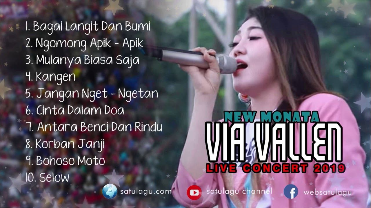 Via Vallen Koplo New Monata Full Album Live Record 2019 Lagu