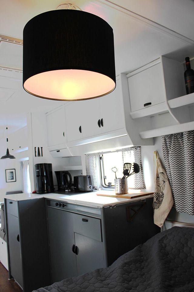 glamping statt camping vorher nachher wohnwagen pinterest vorher. Black Bedroom Furniture Sets. Home Design Ideas