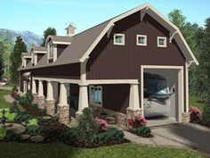Bradley Mighty Steel RV Garage with storage/living quarters/office ...