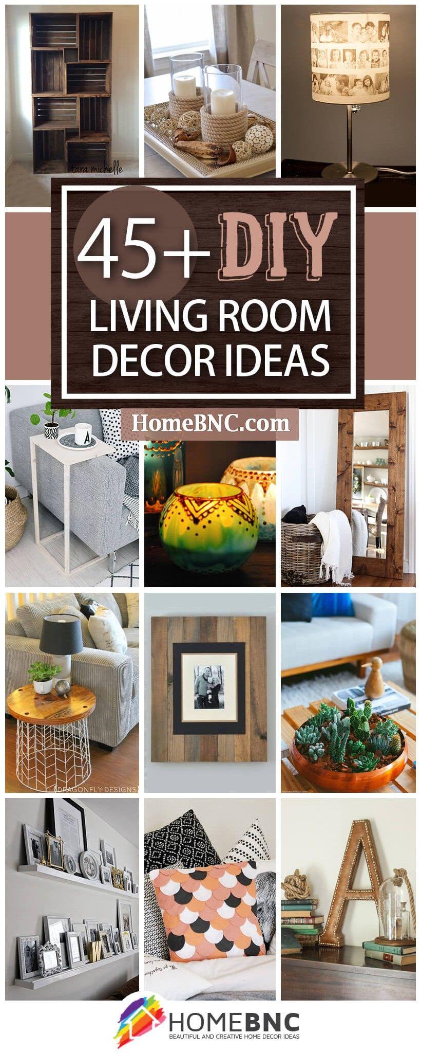 45 Inspiring Diy Living Room Decorating Ideas For Designers On A