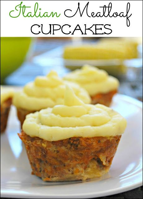 Italian Meatloaf Cupcakes - The addition of mozzarella cheese makes these cupcakes cheesy and moist. Kids and adults will love them! #cbias #shop #FreshFinds