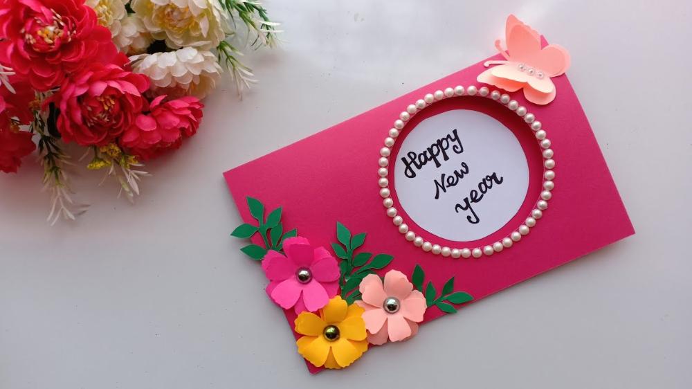 Beautiful Handmade Happy New Year 2019 New year