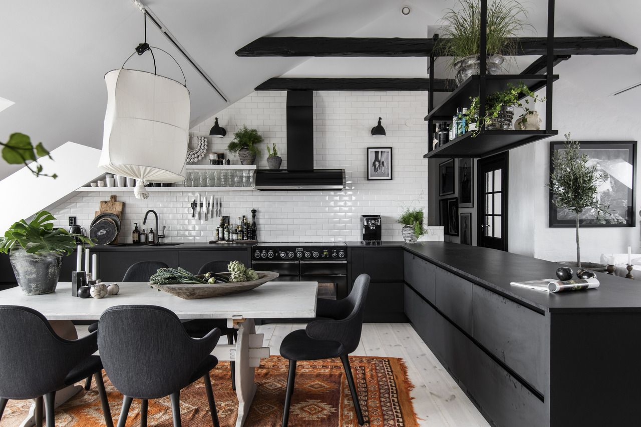 The Nordroom — Boho Scandinavian attic apartment ...