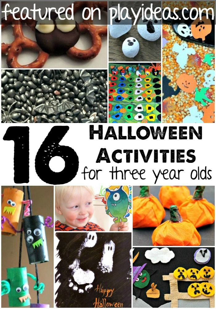 16 Halloween Activities For 3 Year Olds Activities, Holidays and Craft - halloween ideas for 3