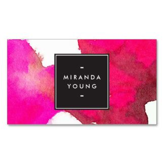 Design my own logo business cards alternative clipart design cool and elegant abstract fuchsia pink watercolor double sided rh pinterest com design my own business cards software design my own business cards free colourmoves