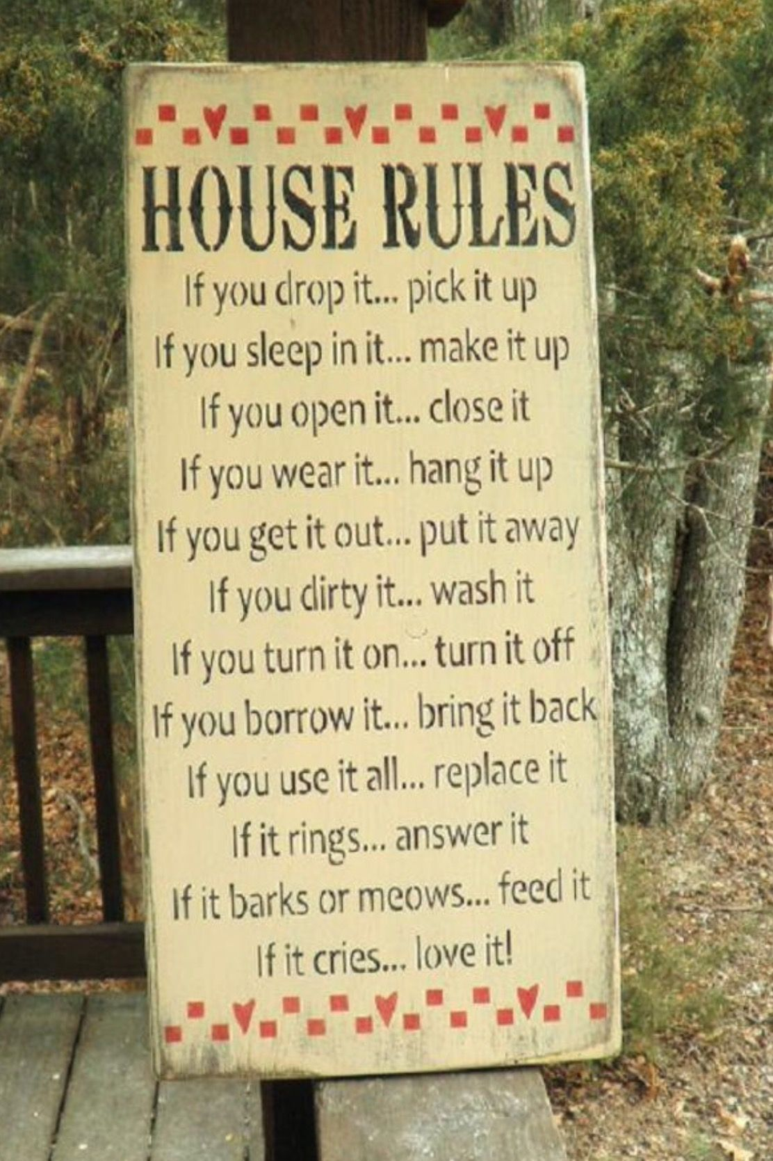 Pin by Carol Myers on Home sweet home | Pinterest | House rules ...