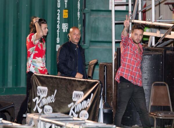 Liam and Harry leaving the ABC studios in LA  -17.11.15