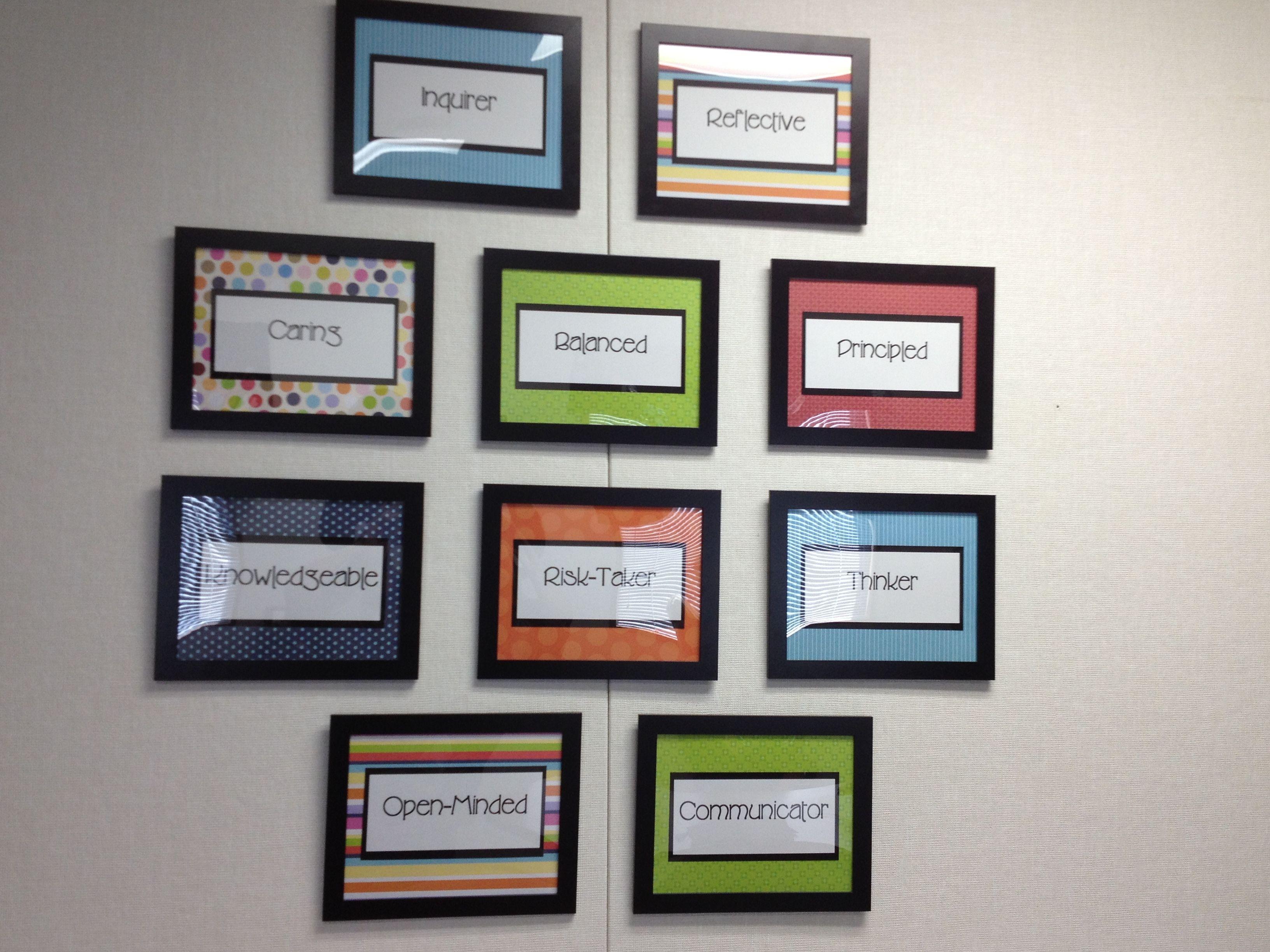 Profile Wall Decorating My Principal S Office School