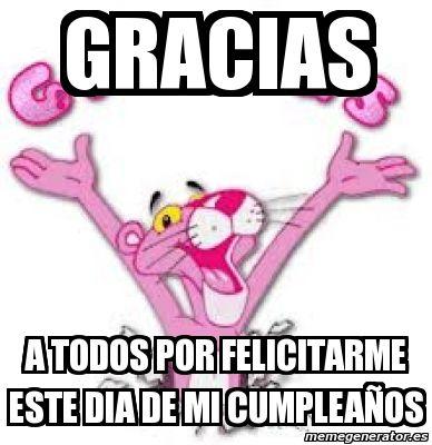Muchas Gracias Por Saludarme En Mi Cumpleaños Buscar Con