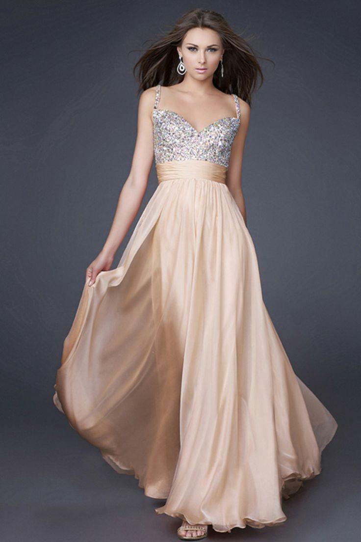 Gala attire Female- Beautiful peach floor length dress 1dc47b683e7b