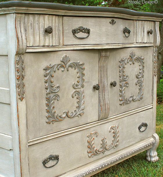 Vintage Buffet Layered In Rich Color One Of My All Time Favorite Pieces Como Pintar Muebles Muebles Pintados A Mano Muebles Viejos