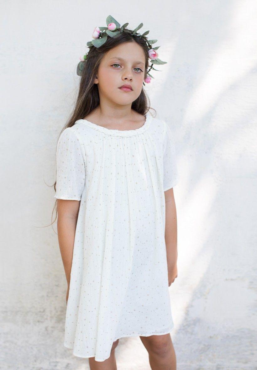 Acheter Robe blanche pour un look pour baptême ou au quotidien