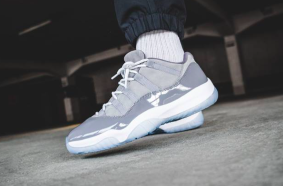 c3602f3a8479 How Do You Like The Air Jordan 11 Low Cool Grey  If you were waiting