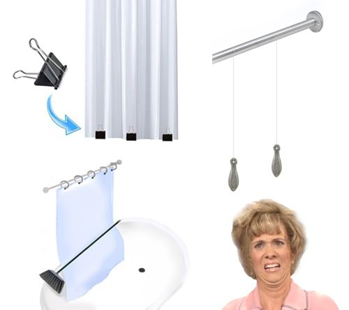 How To Stop Your Shower Curtain From Blowing In Explanations And Solutions The