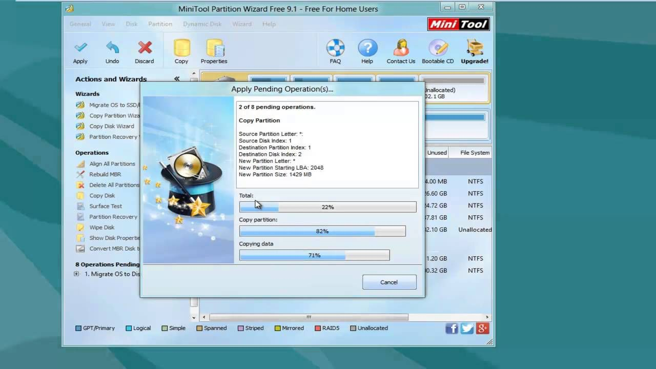 mini tools partition wizard full