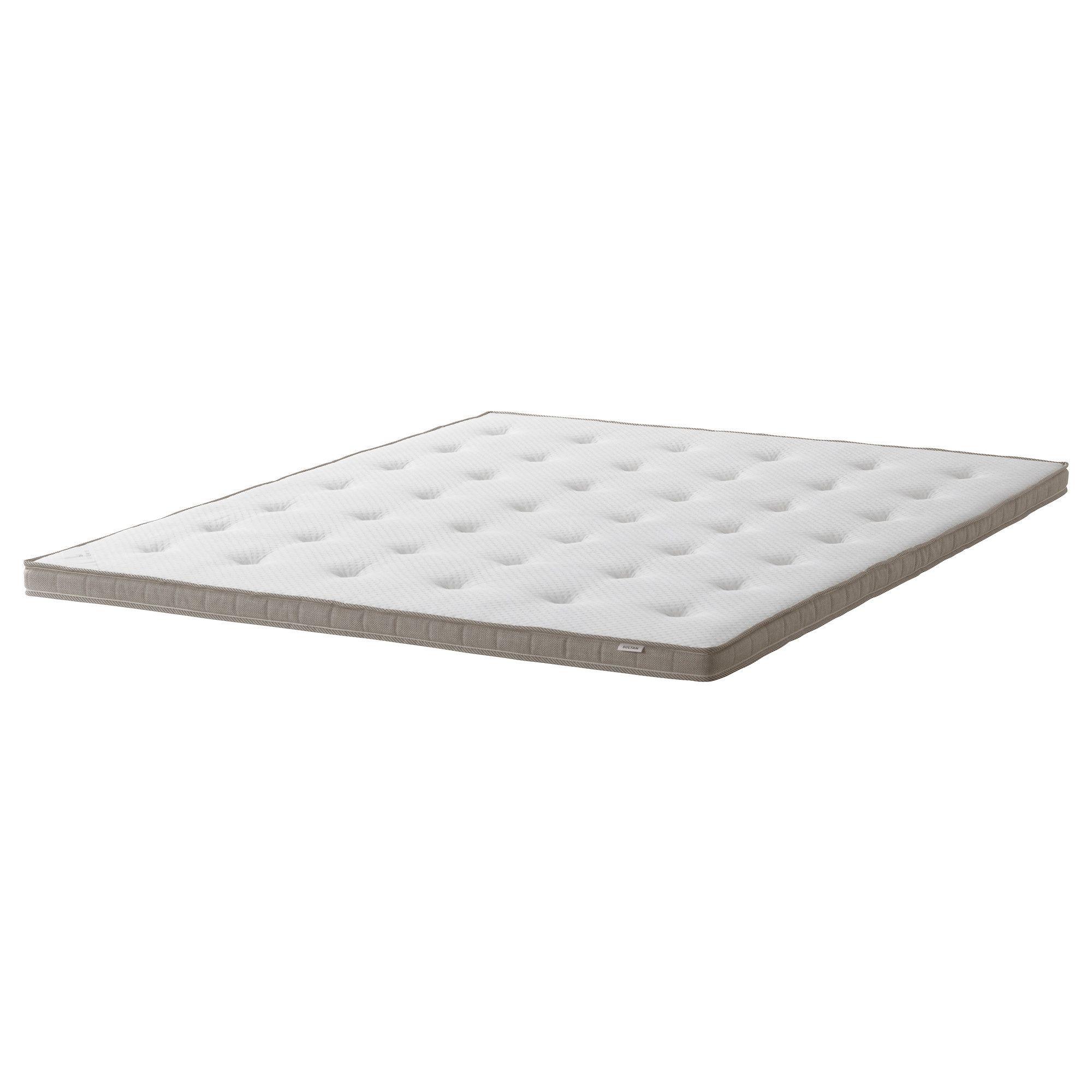 ikea mattresses king base beds legs double used wooden evenskjer hamarvik guest hardly bed p mattress and size