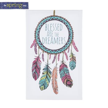 Dream Catcher Kits Hobby Lobby Blessed Are The Dreamers Dreamcatcher Canvas Art  Hobby Lobby D
