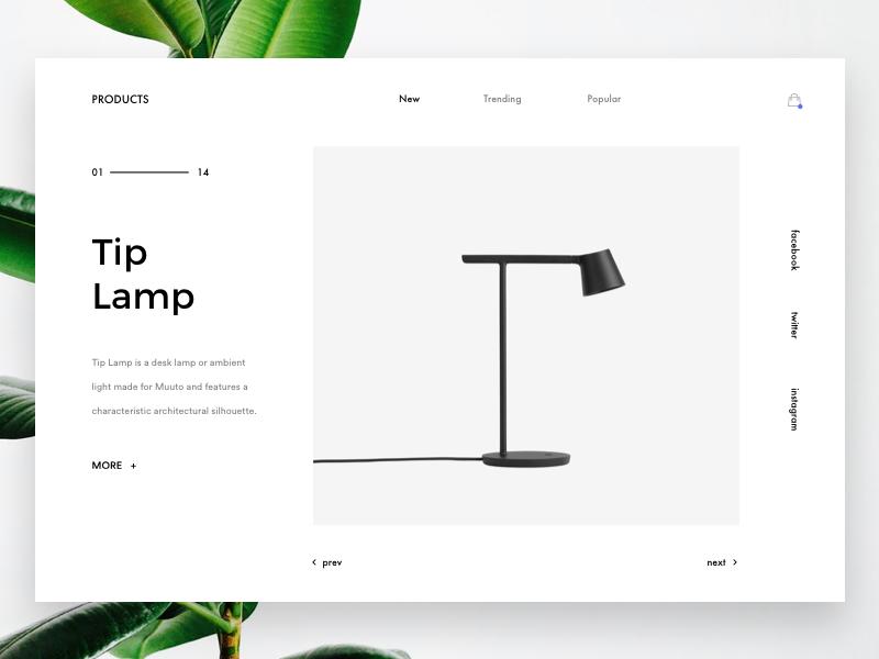 Products Lamp Minimal Web Design Portfolio Web Design Web Design