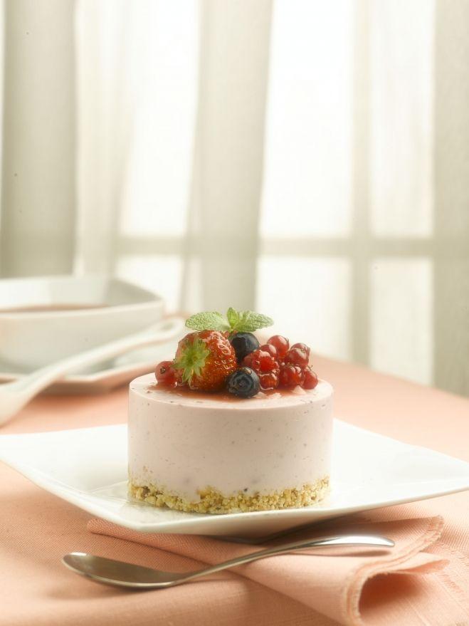 Mignon de Cheesecake aux Fruits des Bois | Recette | Recette