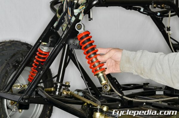 kymco MXU 150 front shock replacement shock absorber | KYMCO