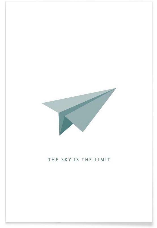 Fly en affiche premium par trabolt design juniqe