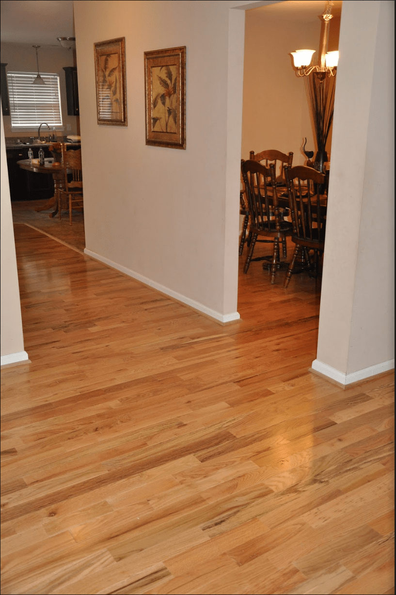 Prefinished Cabin Grade Natural Red And White Oak Mix By Somerset In Mooresville Nc Hardwood Floors Prefinished Hardwood Types Of Wood Flooring