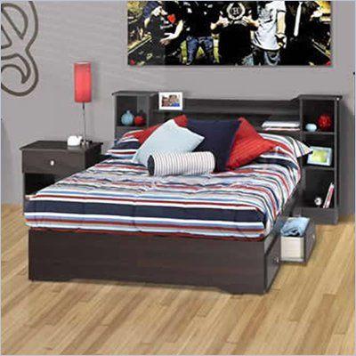 Nexera Pocono Full 3-Piece Bedroom Set in Espresso - 46FULL-PKG-3