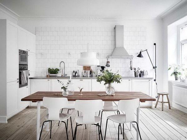Cocinas blancas Tendencias en decoración de cocinas