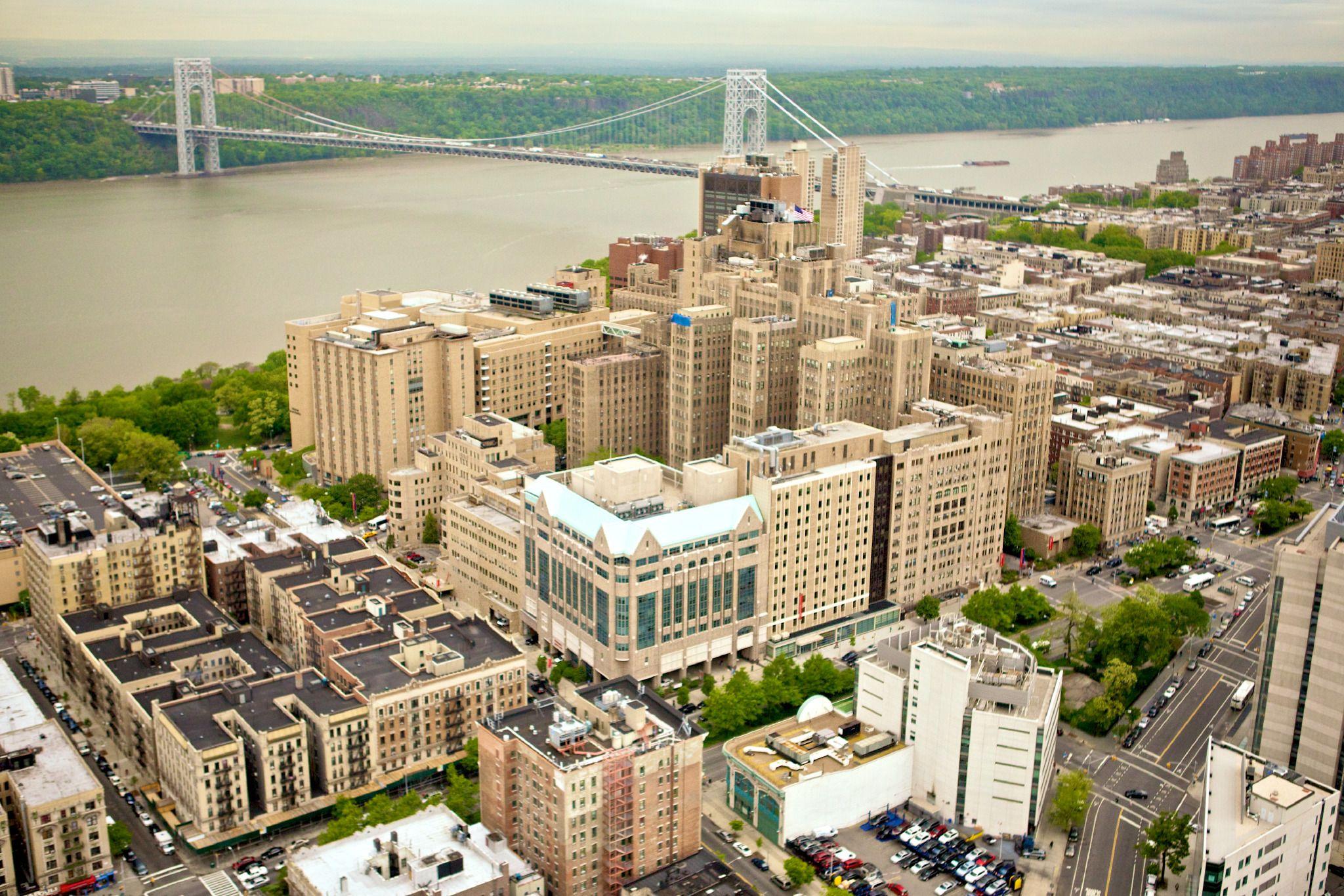 Columbia university medical center partially manhatten